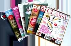 Win een abonnement op een blad naar keuze